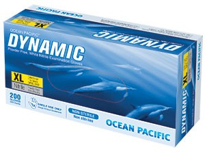 Ocean Pacific Dynamic: Nitrile, Powder Free Gloves