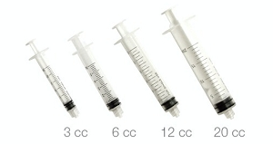 Pac-Dent Luer-Lock Endo Irrigation Syringes