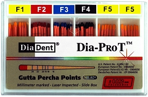 DiaDent Dia-PRO T Paper Points - Spill Proof