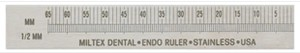 Miltex Endo Ruler 65mm RH
